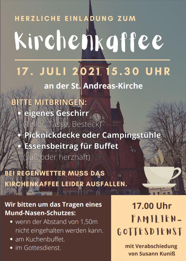 Einladung zum Kirchenkaffee