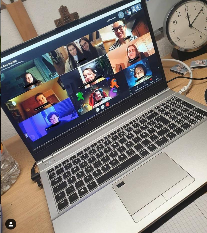 Online Treffen in Corona-Zeiten